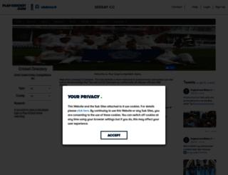sessay.play-cricket.com screenshot