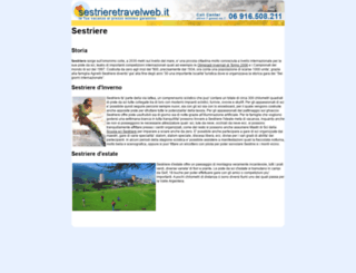 sestrieretravelweb.it screenshot