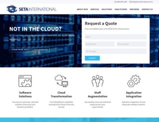 seta-international.com screenshot