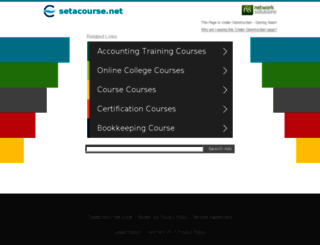 setacourse.net screenshot