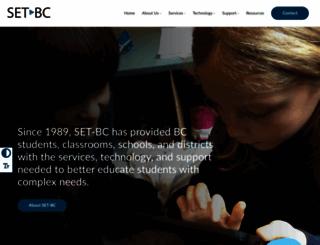 setbc.org screenshot