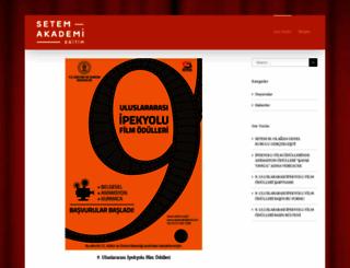 setemakademi.com screenshot