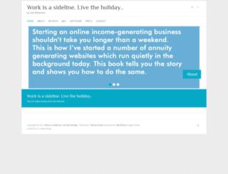 sethbook.co.za screenshot