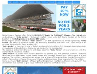 sethi-venice.noidapropertydealers.co.in screenshot