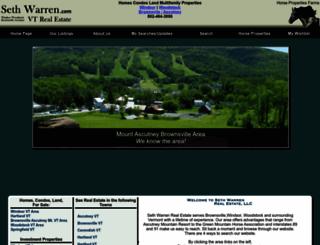 sethwarren.com screenshot