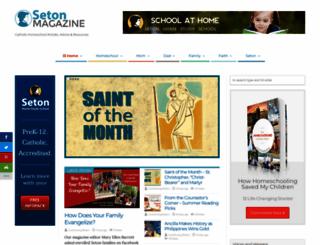 setonmagazine.com screenshot