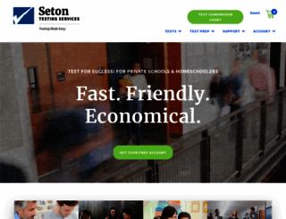 setontesting.com screenshot
