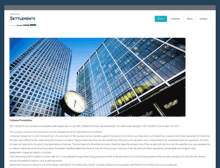 settlements-sa.net screenshot