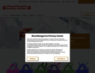 settmecke-apotheke.de screenshot