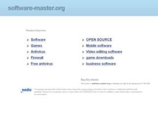 setupupgrade.software-master.org screenshot