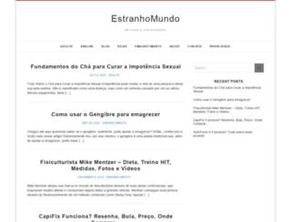 seuestranho.com.br screenshot