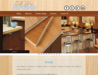 sevaplywood.com screenshot