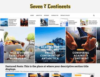 seven7continents.net screenshot