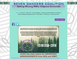sevendancerscoalition.com screenshot