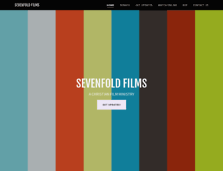 sevenfoldfilms.com screenshot