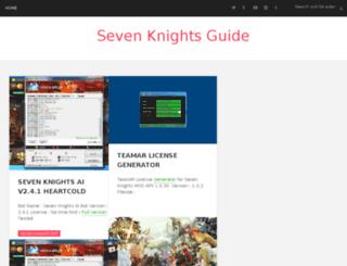 sevenknightsguide.blogspot.sg screenshot