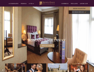 sevenoakshotel.com screenshot