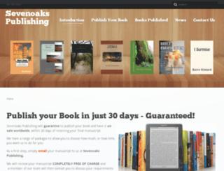 sevenoakspublishing.co.uk screenshot