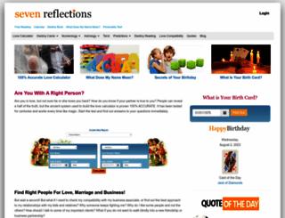 sevenreflections.com screenshot