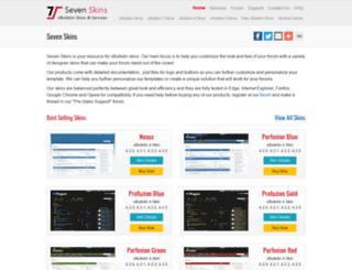 sevenskins.com screenshot