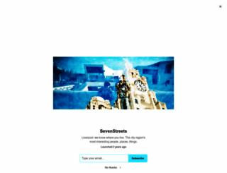 sevenstreets.com screenshot