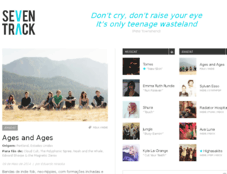 seventrack.com.br screenshot