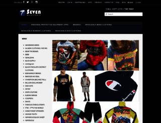 sevenwholesale.com screenshot