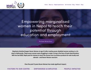 sevenwomen.org screenshot
