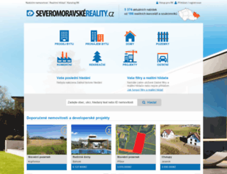 severo.moravskereality.cz screenshot