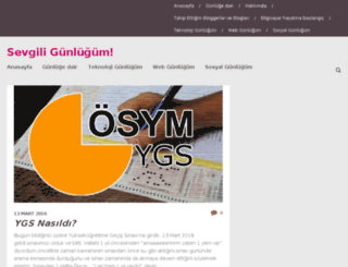 sevgiligunlugum.com screenshot