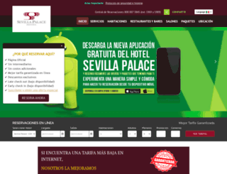 sevillapalace.com.mx screenshot