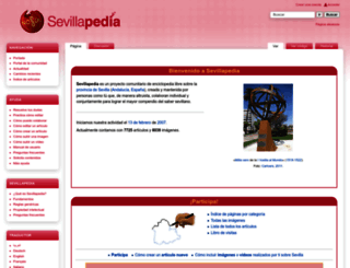 sevillapedia.wikanda.es screenshot