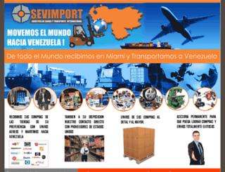 sevimport.net screenshot