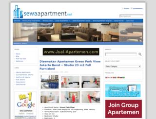 sewaapartment.net screenshot