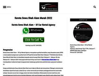 sewakeretashahalam.com screenshot