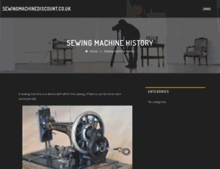 sewingmachinediscount.co.uk screenshot