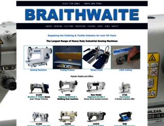 sewingmachinery.com screenshot