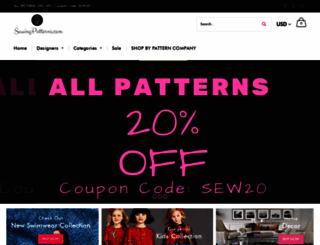 sewingpatterns.com screenshot