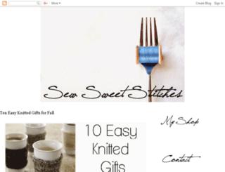 sewsweetstitches.blogspot.com screenshot