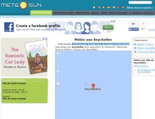 seychelles.meteosun.com screenshot