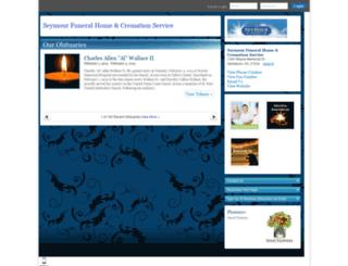 seymourfuneralhome.tributes.com screenshot