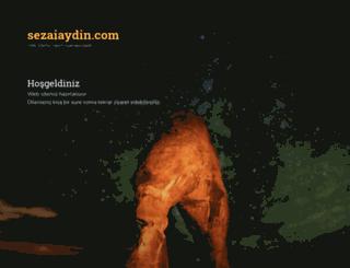 sezaiaydin.com screenshot