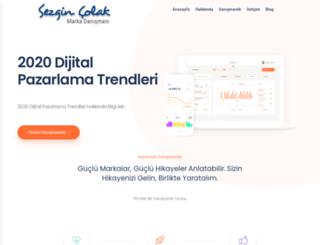 sezgincolak.com screenshot