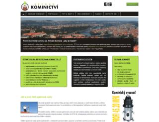 seznam-kominictvi.cz screenshot