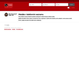 seznam.1188.cz screenshot