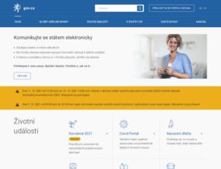 seznam.gov.cz screenshot