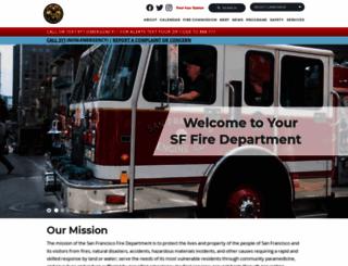 sf-fire.org screenshot