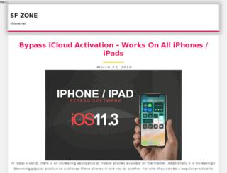 sf-zone.net screenshot