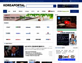 sf.koreaportal.com screenshot