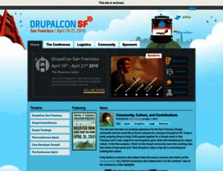 sf2010.drupal.org screenshot